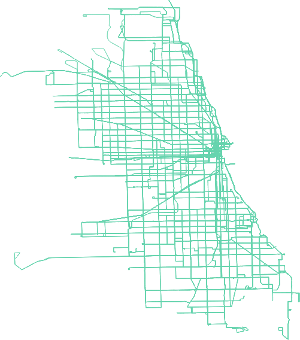Chicago Public Transit Network