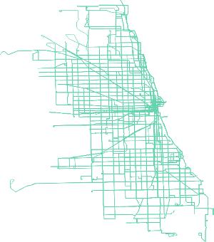 Chicago Public Transit Network